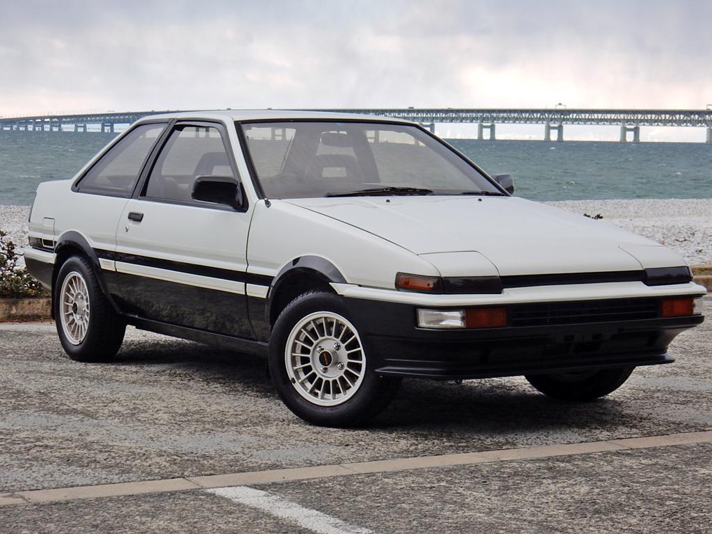 Toyota Sprinter Trueno GT APEX AE86 Coupè O/H Engine 1985 - JPD